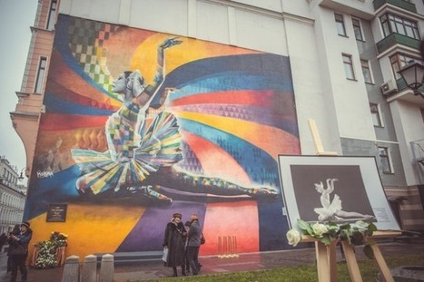 Moscow street art map created - Street I Am - | Street Art Planet | Scoop.it