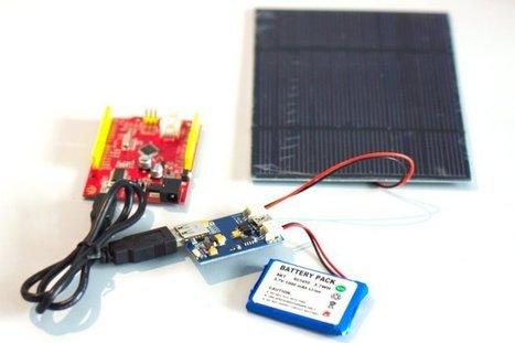 Passer un projet sur batterie - Fait Main Magazine | projet ardweather TPE 2013 | Scoop.it