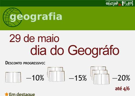 Aproveite os descontos: 29 de maio, Dia do Geográfo!   geoinformação   Scoop.it