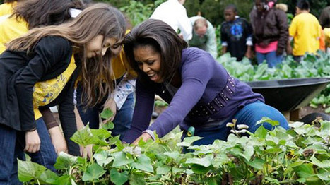 Michelle Obama joins with Pinterest to promote healthy recipes | ♨ Family & Food ♨ | Scoop.it