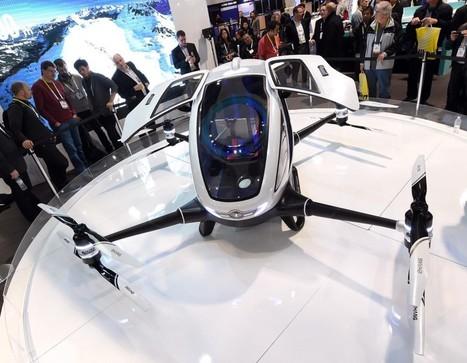 Les choses sérieuses commencent pour le drone-taxi | Drone | Scoop.it