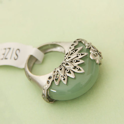 New Arrival Fashion Alloy Agate Rings - DualShine | Engagement Rings | Scoop.it