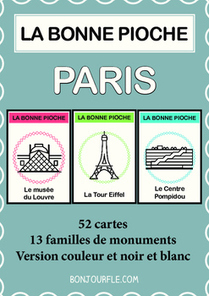 FFL/FSL - Activities to learn French - Go Fish - Paris | Ressources visuelles de FLE | Scoop.it