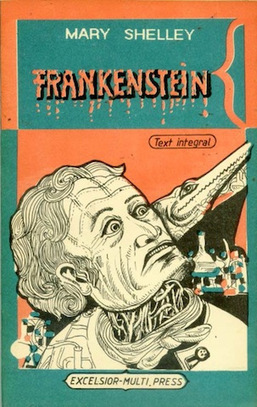 Monstrous Vintage Covers of Mary Shelley's 'Frankenstein' | About Books | Scoop.it