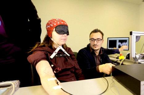 Des chercheurs ont conçu un doigt bionique qui rend la sensation du toucher aux personnes amputées | Le pouvoir du transhumanisme | Scoop.it