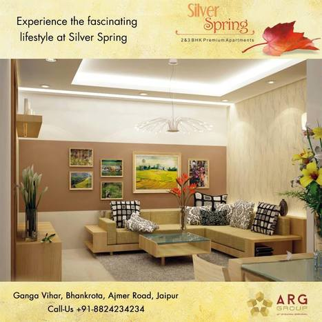 Experience the fascinating lifestyle at Silver Spring | Residential Projects | Scoop.it