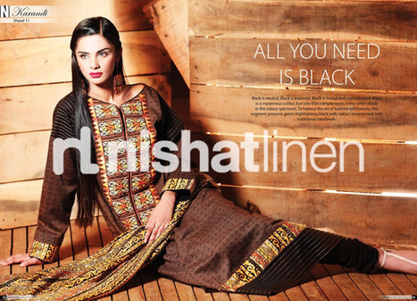 Nishat Winter Khaddar Collection 2012 | Latest Fashion News of Pakistan | Scoop.it