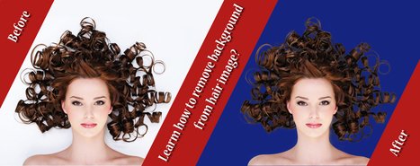 How to Remove Background From Hair Image? | DESIGN | Scoop.it
