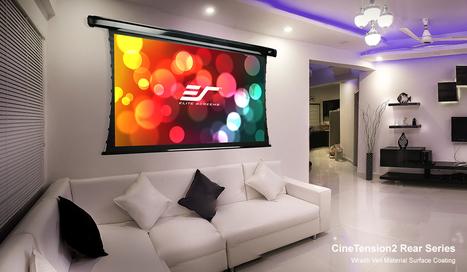 Setting up a Fantastic DIY Rear Projection Screen | Projector Screens | Scoop.it