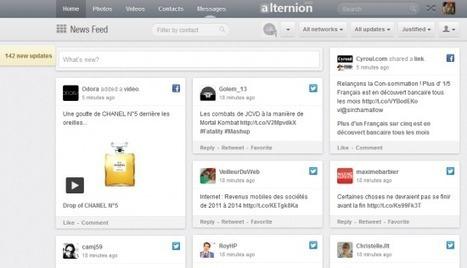 Alternion : gérez vos mails et 220 réseaux sociaux sur une même page | Stratégies Social Media Management et CM | Scoop.it