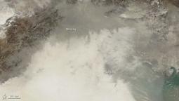 Un satélite de la NASA capta la contaminación ambiental en China | Seguridad industrial | Scoop.it