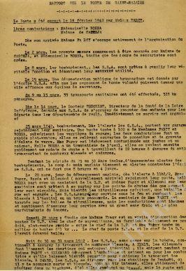 L'organisation de l'évacuation de la population civile à la suite des bombardements - [Archives municipales de Saint-Nazaire] | Histoire 2 guerres | Scoop.it