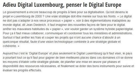 Comment positionner le Luxembourg en top 10 de l'IT ? | Luxembourg (Europe) | Scoop.it