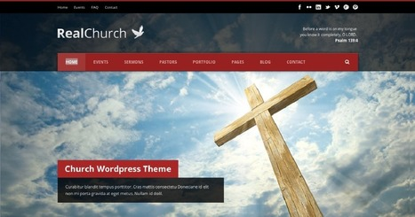 Best Churches WordPress Themes 2014 | WordPress Theme | Scoop.it
