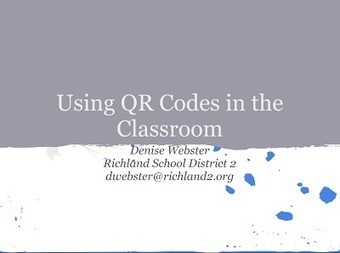 QR Codes in The Classroom- Awesome Guide for Teachers ~ Educational Technology and Mobile Learning | Embedding digital literacy in the classroom | Scoop.it