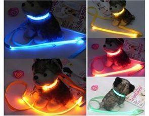 Pet collar Nylon Webbing & Highlight Optical Fiber 3-Mode LED Flashing Collar & Leash for Small Pet | nationalwebbing | Scoop.it