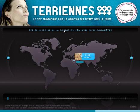 Terriennes : le premier portail dédié à la condition des femmes dans le monde   Egalité fille-garçon au lycée   Scoop.it
