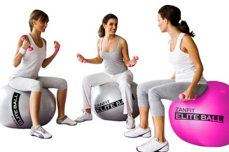 Win a Zanfit Elite Exercise Balls and Ultimate Nutrition samples | latest fashion trends | Scoop.it