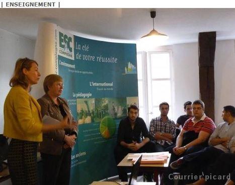 ESC Compiègne - Des étudiants apprennent  les ficelles de la Bourse | ESC Compiègne news et humeurs | Scoop.it