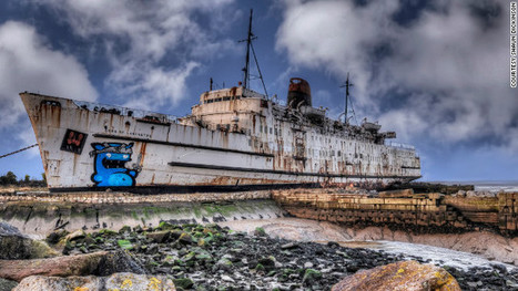 Graffiti artists turn abandoned luxury liner into giant, psychedelic canvas | Global Street Art | Scoop.it
