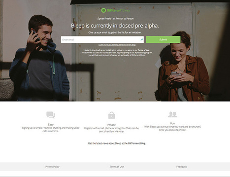 Bleep : la messagerie sécurisée de Bittorrent | Geeks | Scoop.it