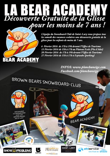 Saint-Lary : découverte gratuite de la glisse pour les moins de 7 ans | Vallée d'Aure - Pyrénées | Scoop.it