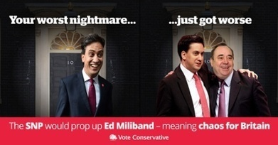 Photoshop nightmare: Tory poster takes aim at SNP and Labour | My Scotland | Scoop.it