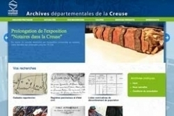 Ouverture du site des Archives de la Creuse | GenealoNet | Scoop.it