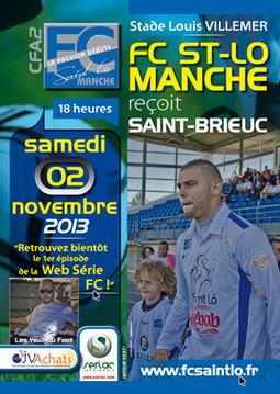 Normandie/Sport: Match FC Saint-Lô Manche / Saint-Brieuc ! | Les news en normandie avec Cotentin-webradio | Scoop.it
