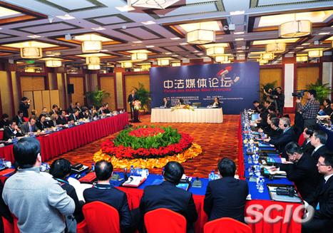 Ouverture du premier Forum des médias sino-français à Beijing   indicatif futur   Scoop.it
