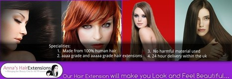 Clip in Hair Extensions | Anna's Clip in Hair Extensions | Hair Beauty-Stylish Hair Extensions & Accessories | Scoop.it