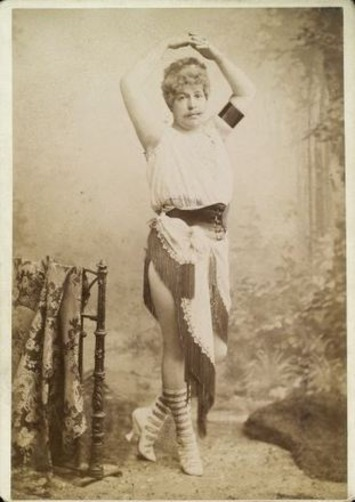 ca. 1896, gentleman in exotic lady's costume   Sex History   Scoop.it