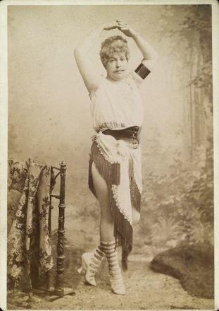 ca. 1896, gentleman in exotic lady's costume | Sex History | Scoop.it
