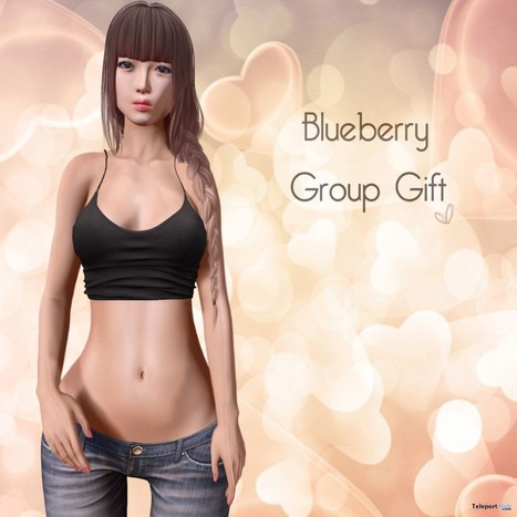 Tank Top Group Gift by Blueberry | Teleport Hub - Second Life Freebies | Second Life Freebies | Scoop.it