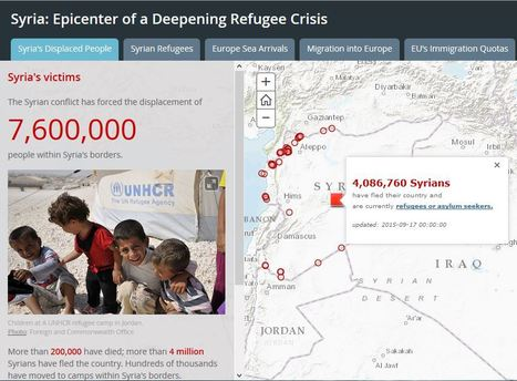 Syria: Epicenter of a Deepening Refugee Crisis | Geography Education | Scoop.it
