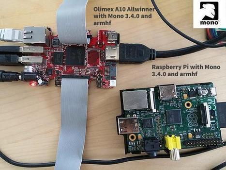 C# .NET Mono armhf on Raspberry Pi,BeagleBoard+Olimex | Arduino, Netduino, Rasperry Pi! | Scoop.it