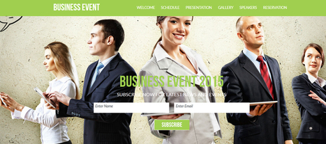 20 Professional Corporate Muse Website Templates | ART CONTEMPORAIN | Scoop.it