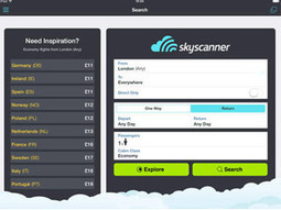 Skyscanner reveals searches on tablets and smartphones soaring - Travolution.co.uk | Travel and Hospitalilty, Voyages, Culture | Scoop.it
