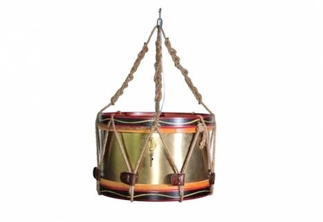 Drum Chandelier, Home Lighting and Lamps   Timothy Oulton   3D Product Design   Scoop.it