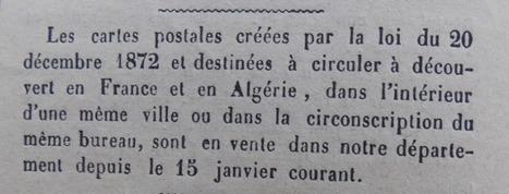 Et la carte postale s'invita dans la vie quotidienne - aujols-Laffont | GenealoNet | Scoop.it