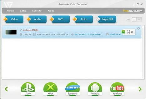 Convierte videos para ver en tu iPad o smartphone con Freemake Video Converter 3.1 | Tips&Tricks | Scoop.it