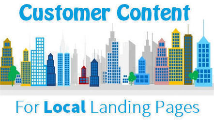 BRILLIANT Idea for Local Landing Pages! Automated Customer Content | Google+ Local & Local SEO News | Scoop.it