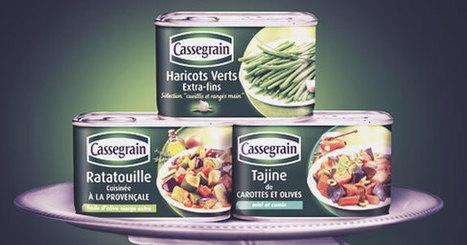 La refonte des packagings des conserves Cassegrain | L'actualité marketing et communication | Scoop.it