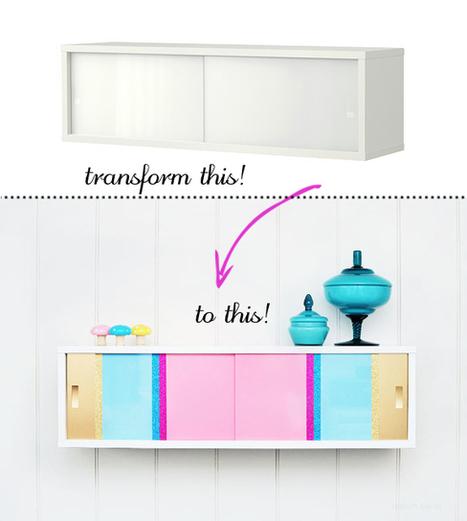 Initiales GG, une fille mais pas que...: DIY : relooking en mode Color block! | DIY DIY | Scoop.it