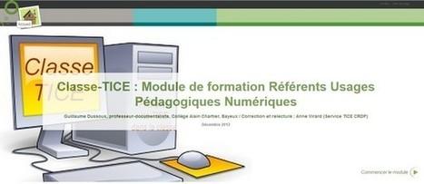 Classe-TICE : autoformation en ligne aux TICE - Ressources pour l ...   certificatC2i   Scoop.it
