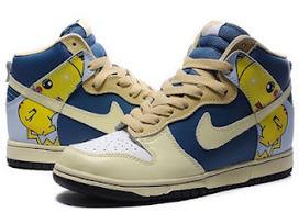 Pikachu Nike Dunks/Nike Dunk High Top Pikachu Poke | Roi Boo News | Scoop.it