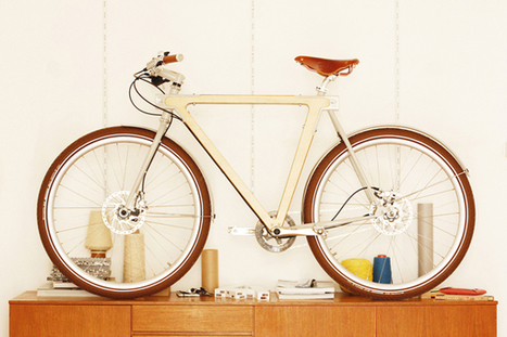 WOOD.b - Wooden Bicycles | tubbyphunk | Scoop.it