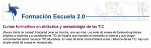 Formación Escuela2.0 | De interés educativo | Scoop.it