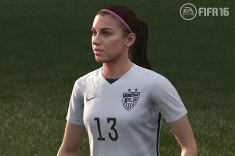 FIFA 16 Features Women's Teams | Media Representation | Scoop.it