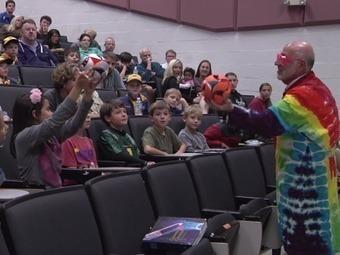 UT professor teaches chemistry lesson through annual show - WATE-TV | Chemistry | Scoop.it